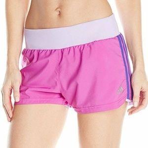 Pants - Adidas Performance Grete Shorts Purple Climacool